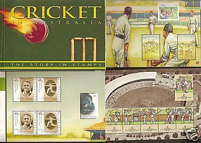 AUSTRALIA 2007 CRICKET BOOKLET Bradman Ashes WG Grace Sheffield Shield Trumper