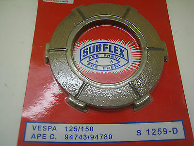 VESPA  SUBFLEX CLUTCH FRICTION PLATE SET FOR 125 / 150cc SUPER ,SPRINT