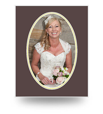 Oval Photo/picture Mounts