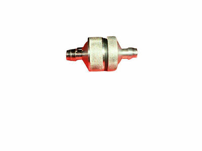 RC Glow Engine Inline Alloy Oil Fuel Filter.
