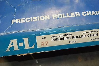 Allied Locke 140-1CP  Roller Chain,    10'    NEW  in Box