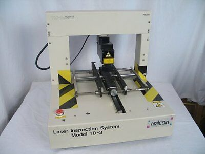 Malcom TD-3 3D Non-Contact Laser Inspection System