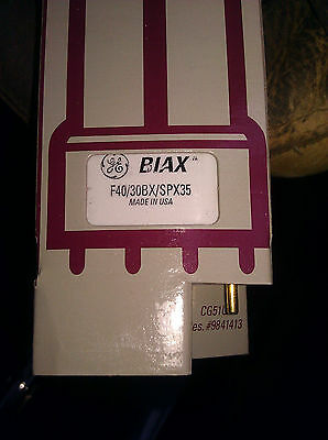 GE BIAX L COMPACT FLUORESCENT LAMP # F40//30BX//SPX35