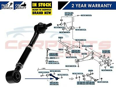 Toyota Avensis Auris 09- Rear Left Right Axle Track Control Suspension Arm Bush