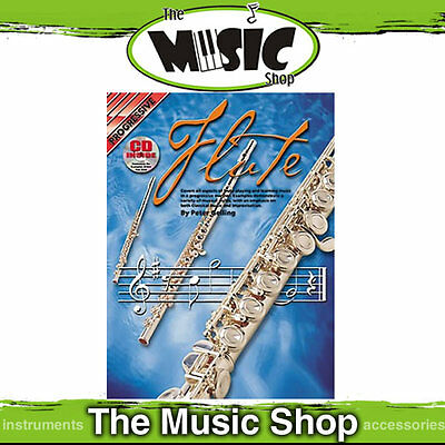 Progressive Flute Music Book & CD by Peter Gelling   -Flute Tuition Book