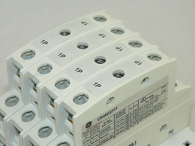 New General Electric CR463L40AJA 4 pole 120 volt CR460B Lighting Contactor
