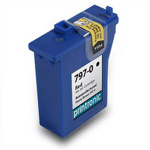 1 Pitney Bowes 797 0 7970 K700 Red Ink Cartridge