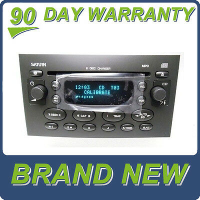 NEW 04 05 SATURN ION VUE Radio Stereo 6 Disc Changer MP3 CD Player OEM Factory