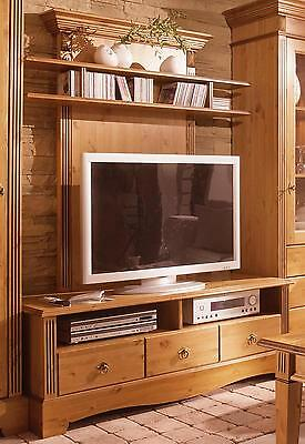 Cordoba tv lowboard 01 kommode kiefer massiv kolonial for Tv schrank kolonial