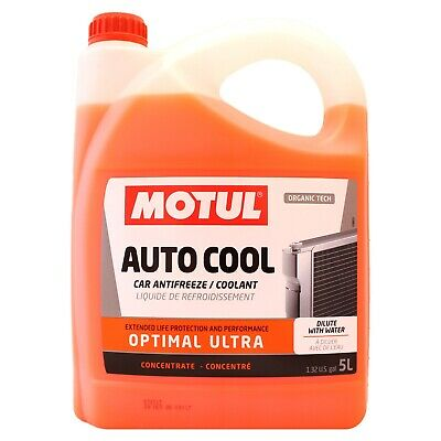Motul Inugel Optimal Ultra Concentrated Cooling Liquid & Anti Freeze 5 Litres 5L