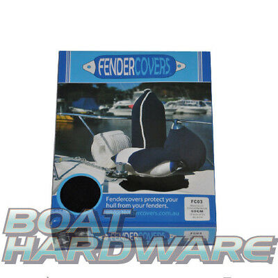 FENDER COVERS PAIR OF BLACK Mooring Boat Yacht Quality Guaranteed NEW