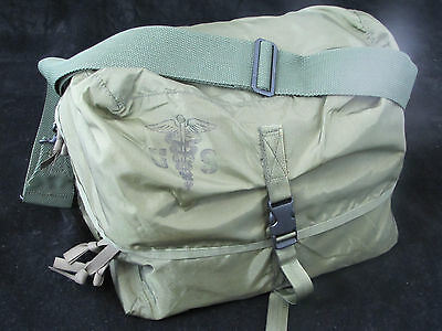 Military GI Issue Enlarged Combat Medic Bag Emergency Kit Olive Drab New 132pc