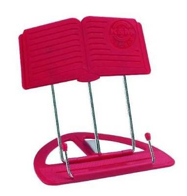 The 'CLASSIC' Book Stand Book Holder Red