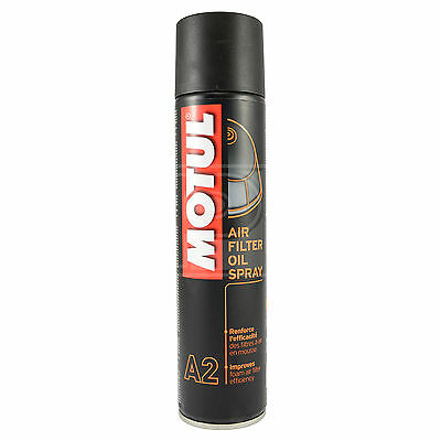 Motul A2 Air Filter Oil 400ml Aerosol