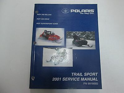 2001 polaris trail sport indy 340 500 super service repair. Black Bedroom Furniture Sets. Home Design Ideas