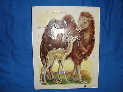 Vintage Playskool Golden Press Puzzle Camel