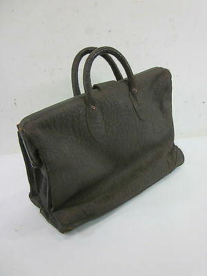 "Vintage Leather Doctors Satchel  16""x11""x7"""