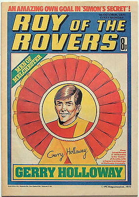 Roy Of The Rovers: Phil Boyer/John McGovern: 1st October 1977