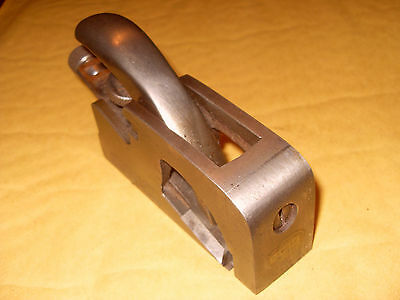 Record No. 077 Rabbet Plane (& Record Iron) - As Photo's - Made In England