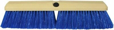 "14"" Blue Nylon Truck RV Wash Brush Threaded Made in USA 83006"