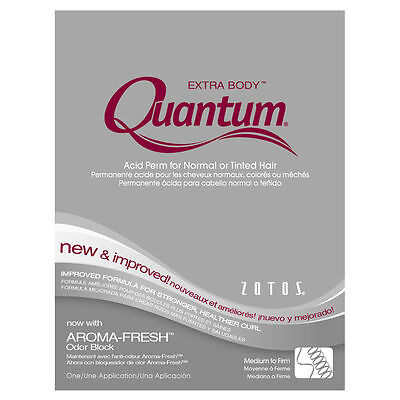 Quantum Extra Body Acid Perm For Normal Tinted Hair Medium To Firm Wave 1pack