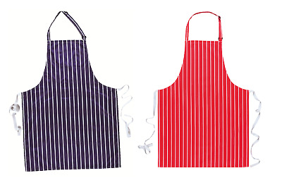 Waterproof Nylon Bib Apron - Catering - Butchers