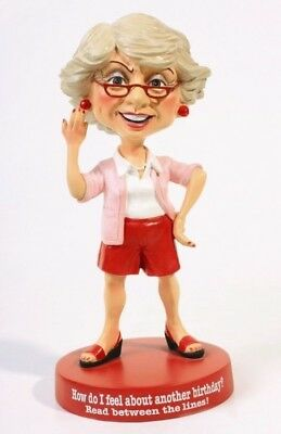 """The Boomers Statue Figurine Collection Theme Read Between The Lines 5.5"""" Height"""