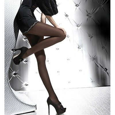 New Fiore Paula 40 Denier Semi-Opaque Tights/Pantyhose S, M, L, XL