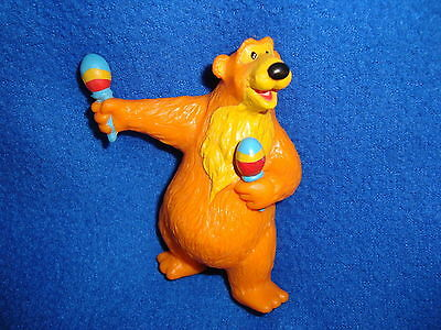 "Bear In the Big Blue House W/ Maracas 3.75"" PVC Figure"