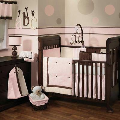 Madison Avenue Baby 5 Piece Baby Crib Bedding Set by Lambs & Ivy