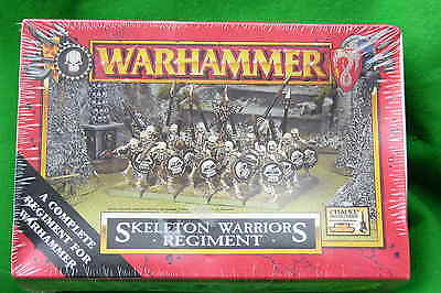 Warhammer     Skeleton Warriors Regiment, Box Set ,plastic,1998  Bnib