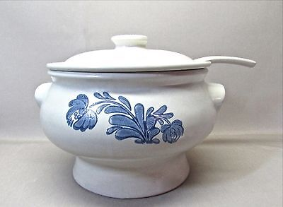 "PFALTZGRAFF ""YORKTOWNE"" SOUP TUREEN WITH LADLE"