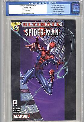 Ultimate Spider-Man Wizard ½ CGC 9.6 mail-away exclusive