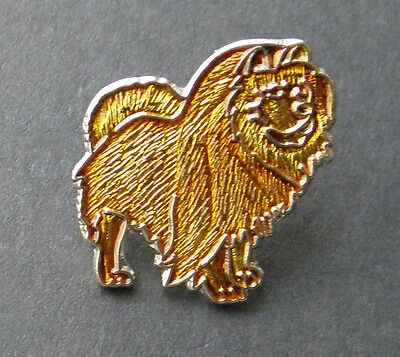 NICE QUALITY CHOW CHOW DOG LAPEL PIN BADGE