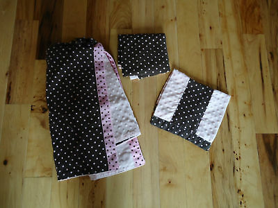 CARSEAT TENT/COVER NURSING COVER UP BABY BLANKET BURP *