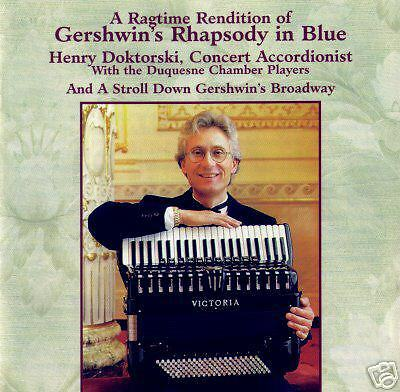 CD: Gershwin's Rhapsody In Blue for Accordion & Orchestra