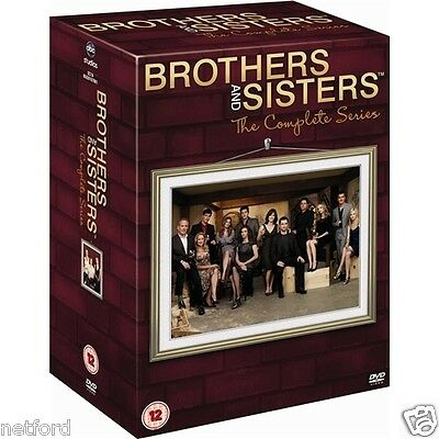 "Brothers And Sisters Complete Series Collection 1-5 Box Set R4 ""new&sealed"""