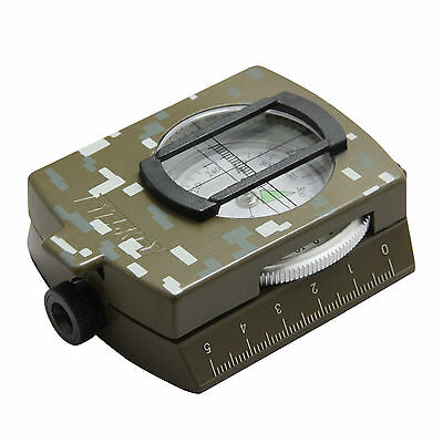 Eyeskey Waterproof Survival Military Compass Hiking Camping Army Pocket Military