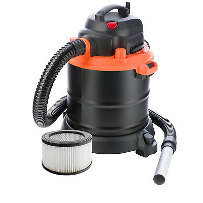 Ash Vacuum Cleaner 18L with motor 1200 watts hepa filtre mobile with rolls
