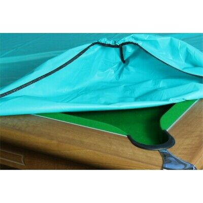 6/7ft Green POOL TABLES COVER FITS ALL 6x3 TABLES,Waterproof,Elasticated Corners