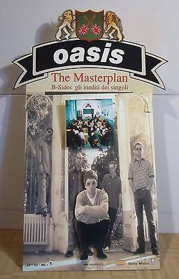 "Oasis : Cartonato Pubb ""the Masterplan""  1998"