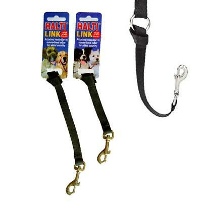 Halti Link Headcollar Dog Puppy Training 'Attach to Collar for Extra Security'
