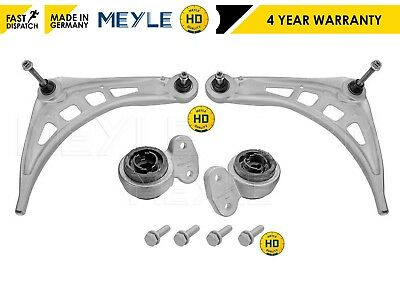 For Bmw E46 2 Front Lower Control Arm Arms 2 Wishbone Rear Bush Bushes Meyle Hd
