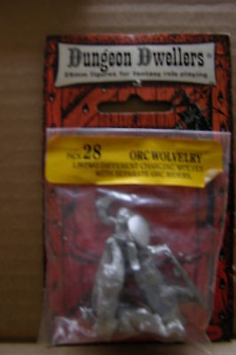 Dungeon Dwellers,orc Wolvelry #28  Unopened Carded