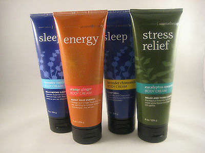 Bath and & Body Works Aromatherapy Body Cream Pick Your Scent