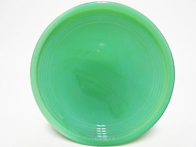 Akro Agate Small Stacked Disc Green Saucers For Child Tea Set / VHTF