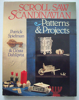 Scroll Saw Scandinavian patterns and projects woodworking