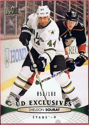2011-12 UPPER DECK SHELDON SOURAY UD EXCLUSIVES SP /100 SERIES 2 #395 PARALLEL