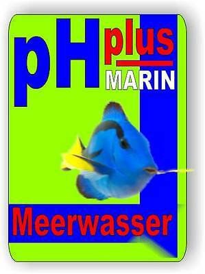 pH plus Marin 1 Liter erhöht den pH-Wert im Meerwasser Aquarium