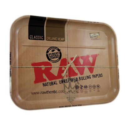 RAW Rolling Papers XL Size Rolling tray - Huge 20' x 15' inches